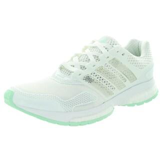 Adidas Women's Response Boost 2 Techfit W White/Green Running Shoe