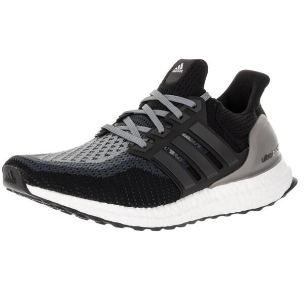 b5a5cd120f9 Shop Adidas Women s Ultra Boost W Core Black Black Grey Running Shoe ...
