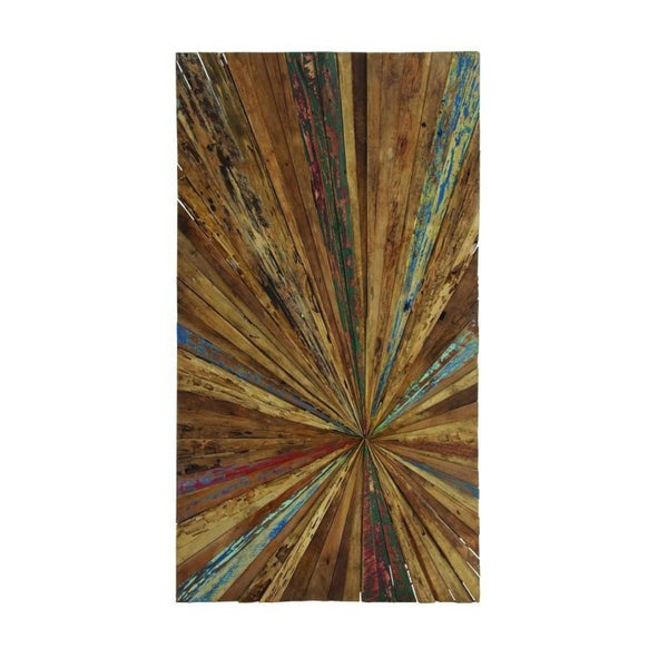 reclaimed wood 60 inch x 32 inch abstract wall art multi color free shipping today. Black Bedroom Furniture Sets. Home Design Ideas