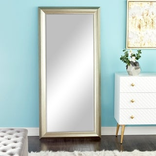 Polyurethane 65-inch High x 31-inch Wide Beveled Mirror