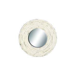 Polyurethane 45-inch Round Wall Mirror