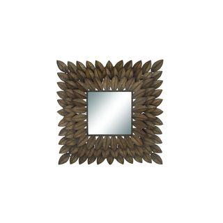 Metal 30-inch-wide x 30-inch-high Wall Mirror