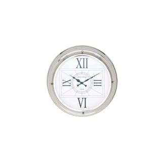 Stainless Steel 18-inch Diameter Wall Clock