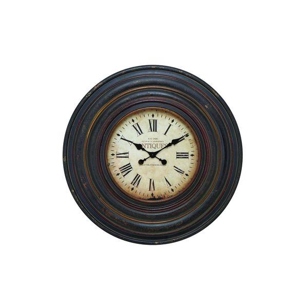 Gracewood Hollow Tantaquidgeon Wood 31-inch Diameter Wall Clock