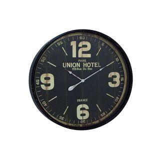Porch & Den Jared 35-inch Diameter Metal Wall Clock