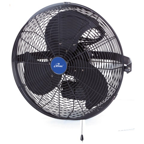 iLIVING 18 Inch Wall Mount Outdoor Fan (Misting Kit Sold Separately)