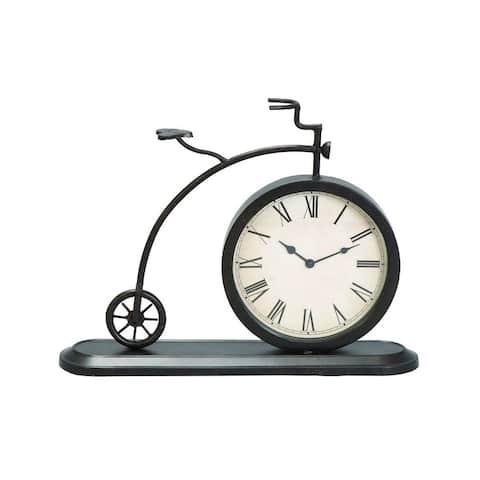 Carbon Loft Edison Metal 14-inch Clock