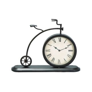 Vintage Reflections Metal 14-inch Clock