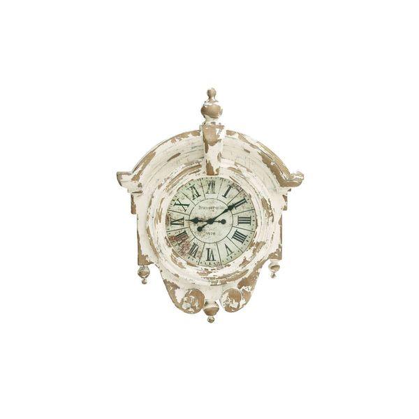 Fiberglass 44-inch x 34-inch Wall Clock