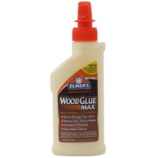 Elmer's E7290 4 Oz Carpenter's Wood Glue Max