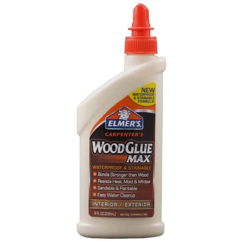 Elmer's E7300 8 Oz Carpenter's Wood Glue Max