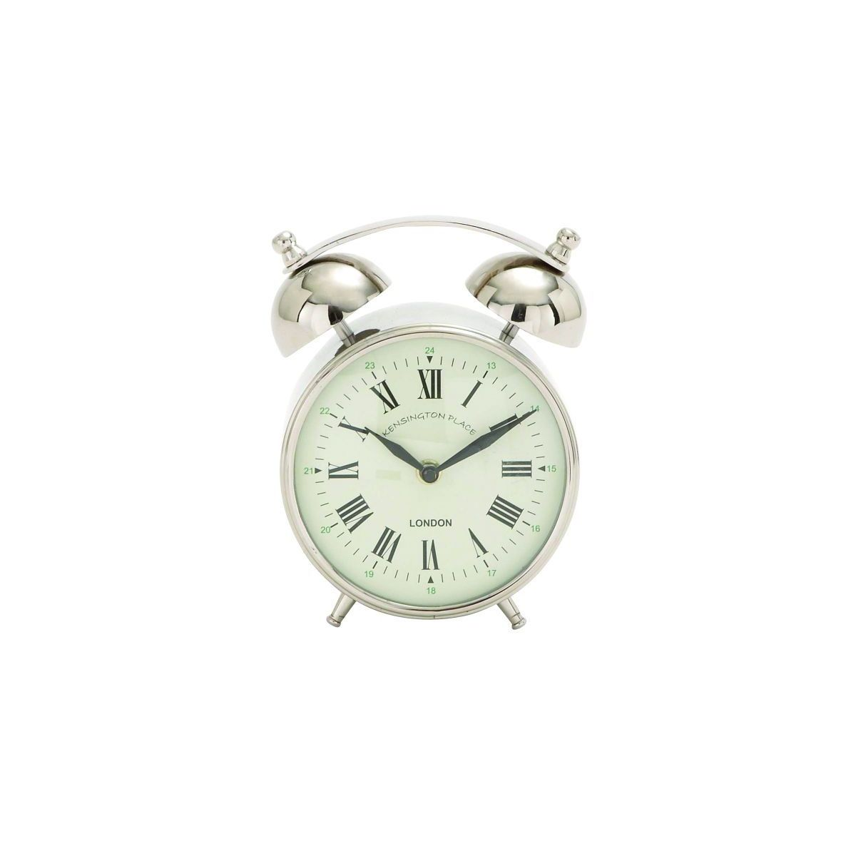 Studio 350 Old-Fashioned Stainless Steel Alarm Clock (Sst...