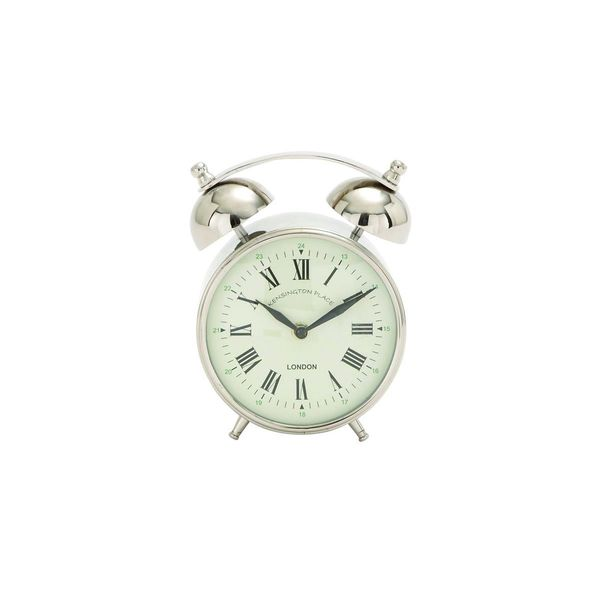 Superior Old Fashioned Stainless Steel Alarm Clock