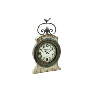 Union Hotel Metal Wall Clock