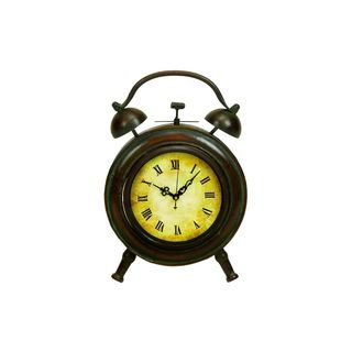 Multicolored Metal Clock (10-inchx 7-inch)