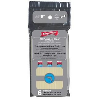 "Arrow Fastener AP5 6-count 4""All Purpose Glue Sticks"