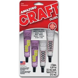 Amazing Goop 5510300 4 Pack .18 Oz Assorted Craft Glues