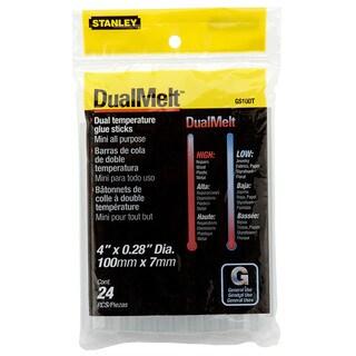 Stanley Hand Tools GS10DT 24-count Mini Dualmelt Glue Sticks