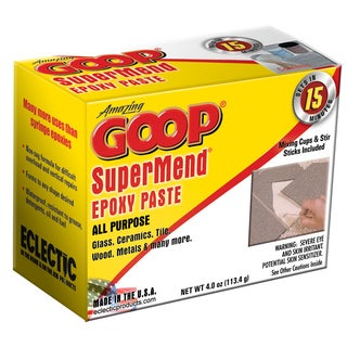 Amazing Goop 5330031 4 Oz Super Mend Epoxy Paste