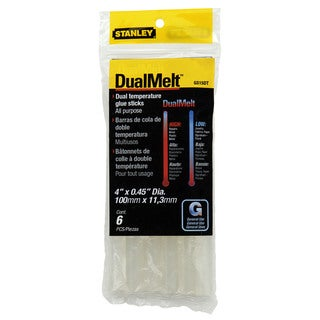 Stanley Hand Tools GS15DT 6-count Mini Dual Temperature Glue Sticks