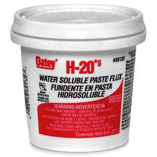Oatey 30132 H-205 Water Paste Flux