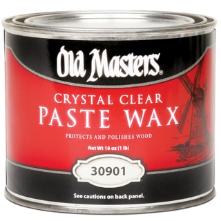 Old Masters 30901 1 Lb Crystal Clear Paste Wax