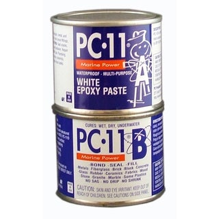 PC-11 1/2 Lb PC-11 White Epoxy Paste