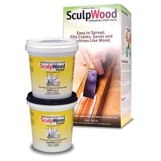 System Three 1610K16 1 Quart SculpWood Paste Kit