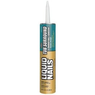 Liquid Nails Adhesive LN715 10 Oz Liquid Nails Tub Surround & Shower Walls Adhesive