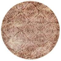Contessa Tobacco/ Antique Ivory Rug (5'3 x 5'3 Round)