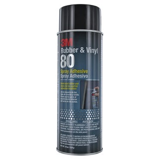 3M 80 18 Oz Rubber & Vinyl 80 Spray Adhesive