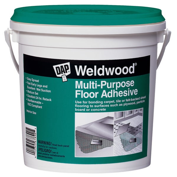 Dap 00141 Quart Multipurpose Floor Adhesive
