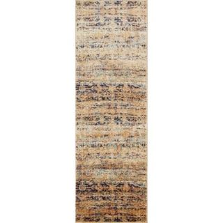 Contessa Sand/ Multi Runner Rug (2'7 x 8'0)