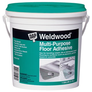 Dap 00142 1 Gallon Multipurpose Floor Adhesive