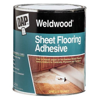 Dap 25176 1 Quart Weldwood Sheet Flooring Adhesive