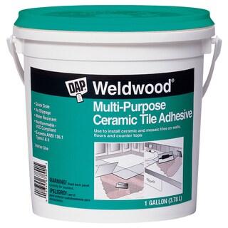 Dap 25192 1 Gallon Weldwood Multipurpose Ceramic Tile Adhesive