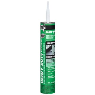 Dap 27407 28 Oz Heavy-Duty Instant Grab Construction Adhesive