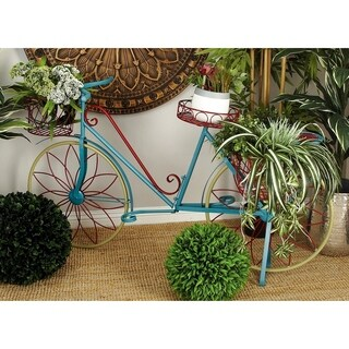 Metal Bicycle Plant Stand