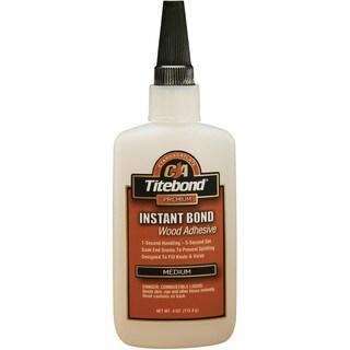 Titebond 6212 4 Oz Titebond Medium Instant Bond Wood Adhesive