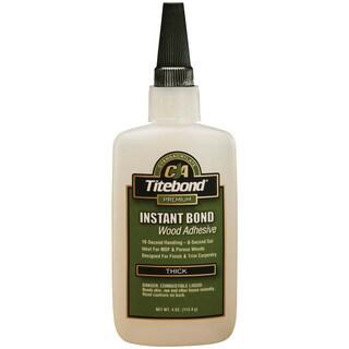 Titebond 6222 4 Oz Titebond Thick Instant Bond Wood Adhesive