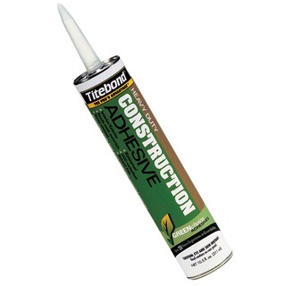 Titebond 7471 10.5 Oz GREENchoice Heavy Duty Construction Adhesive