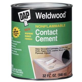 Dap 25332 1 Quart Weldwood Nonflammable Contact Cement