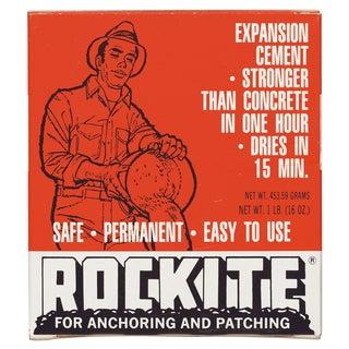 Rockite 10001 1 Lb Rockite Fast-Setting Cement
