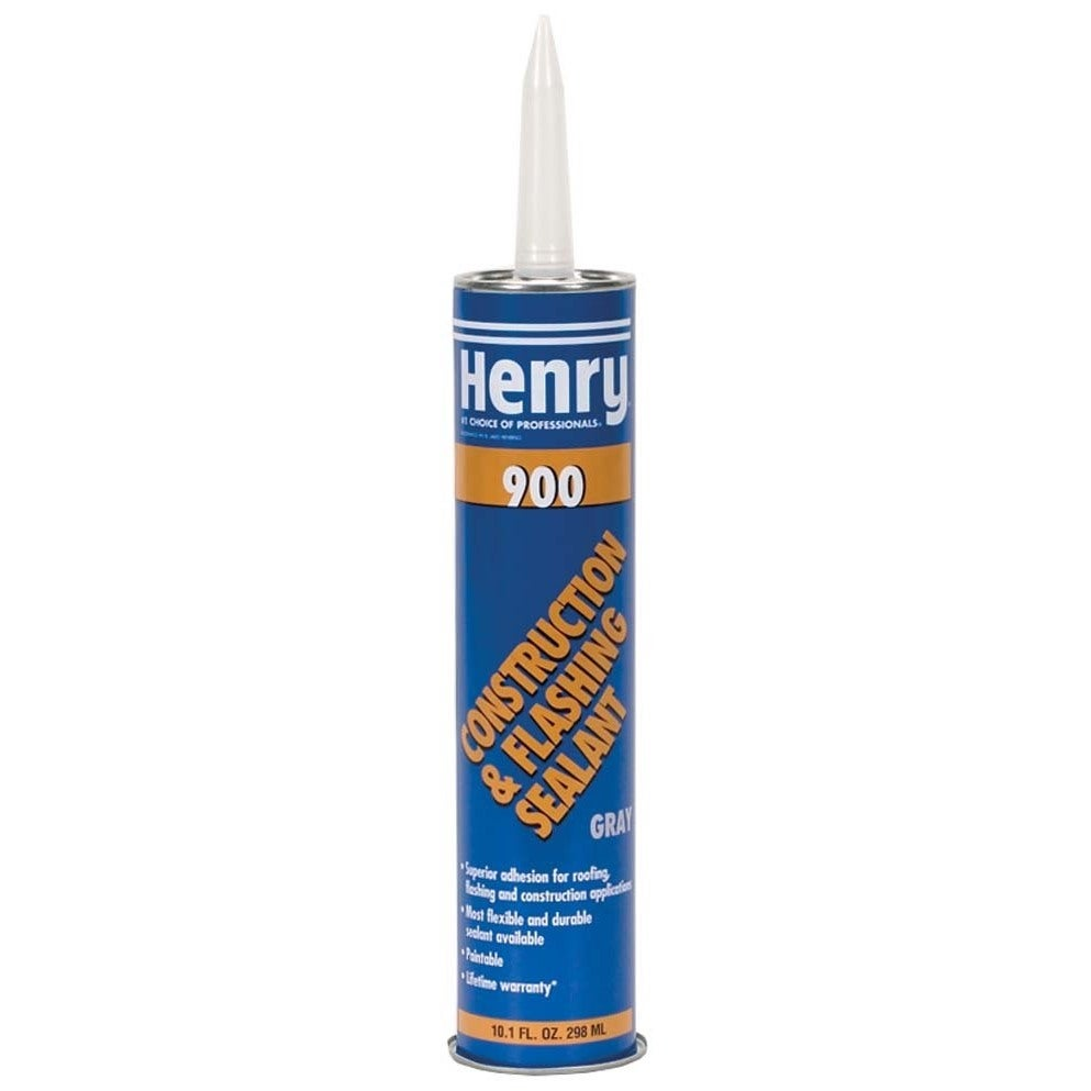 Henry HE900204 10.1 Oz Flashing Cement (Silver) (Roof Coa...