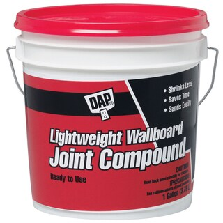 Dap 10114 1 Gallon Lightweight Wallboard Joint Compound
