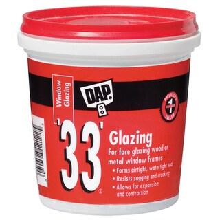 Dap 12121 1 Pint 33 Glazing Compound White Pint