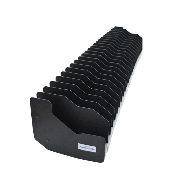 Benchmaster - Weapon Rack - Twenty Four (24)  Gun Pistol Rack - Gun Safe Storage Accessories - Gun Rack