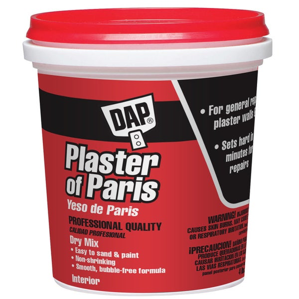 Dap 10308 4 Lb Plaster of Paris Exterior
