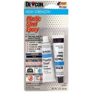 Devcon 52345 2 Oz Plastic Steel Epoxy