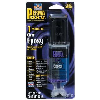 Permatex 84160 .84 Oz Permapoxy 1 Minute Dual Syringe Epoxy